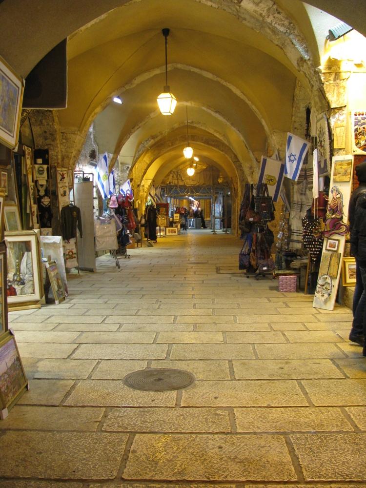 На улице Кардо в Еврейском квартале