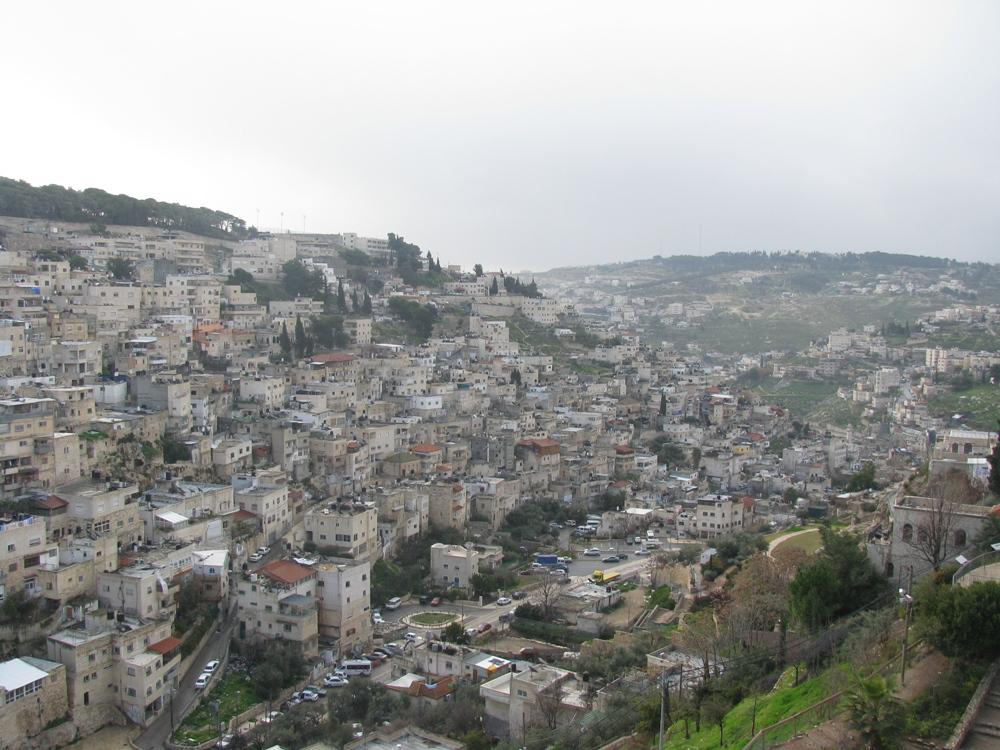 Город Давида и деревня Силуан на Масличной горе
