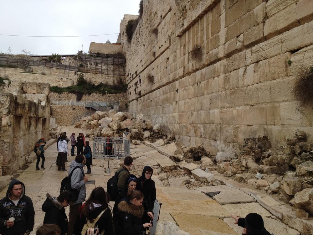 На древних улицах у подножия Храмовой горы