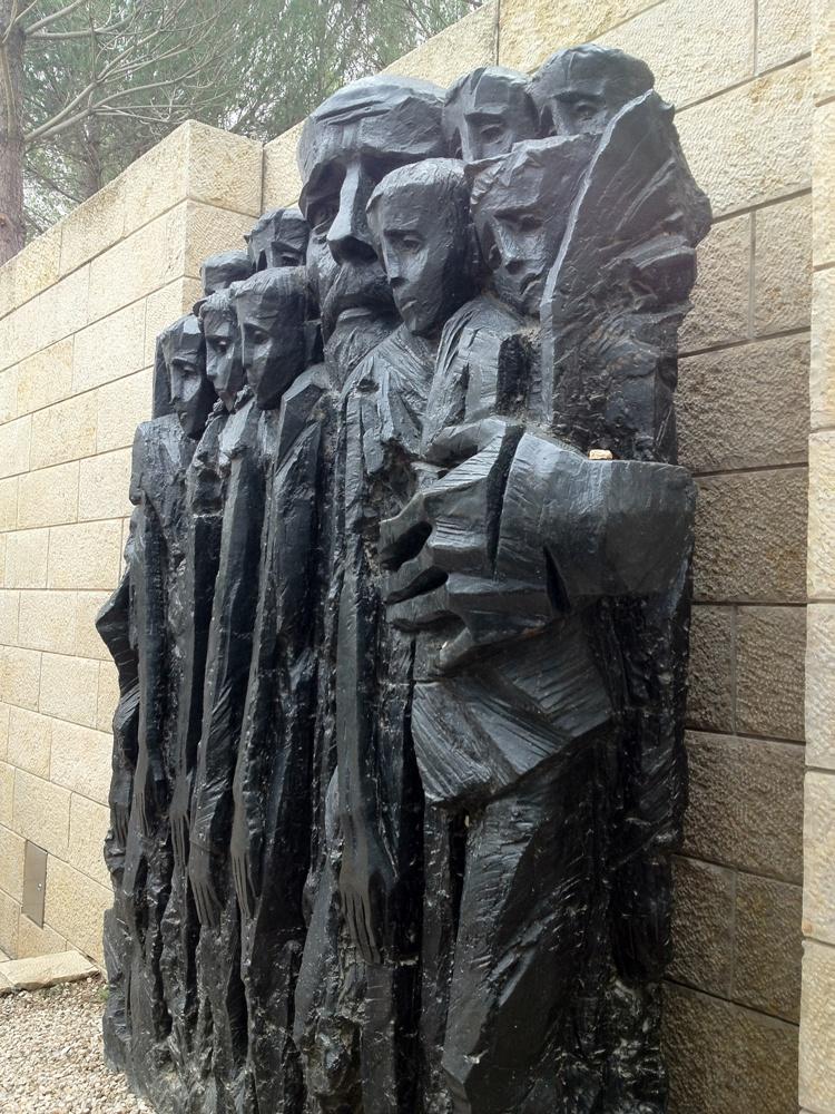 В Яд ва-Шеме в Иерусалиме