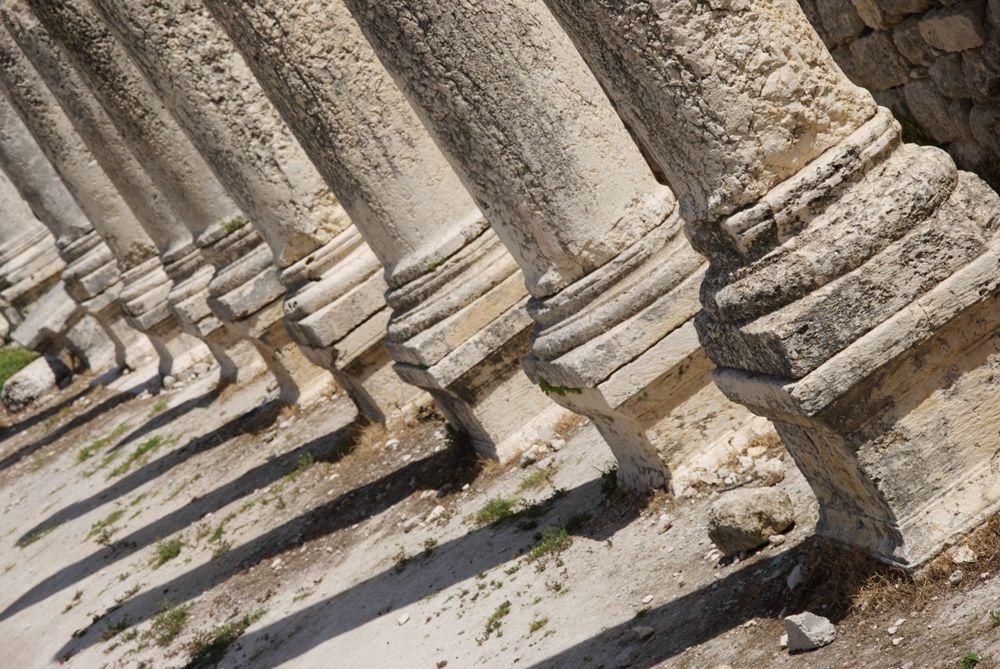 Основания колонн - базилика Себастии