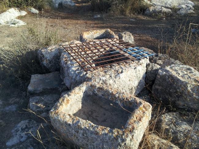 Яма (цистерна) для воды и водопойня