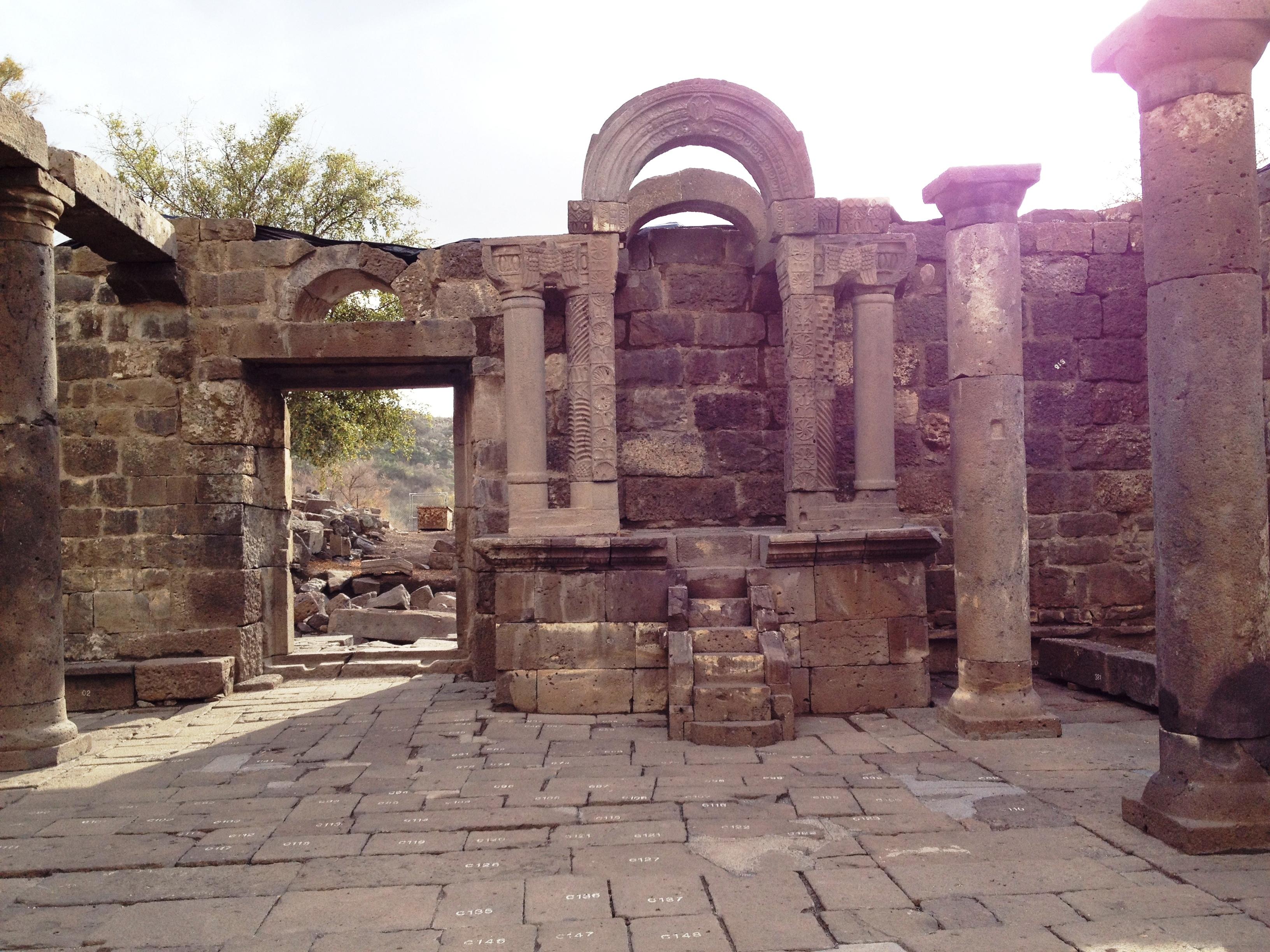 Голаны - синагога Ум эль-Канатир