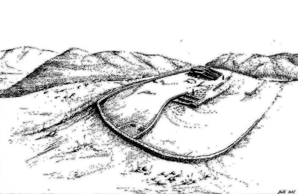 Ступня Б-ога в долине Иордан