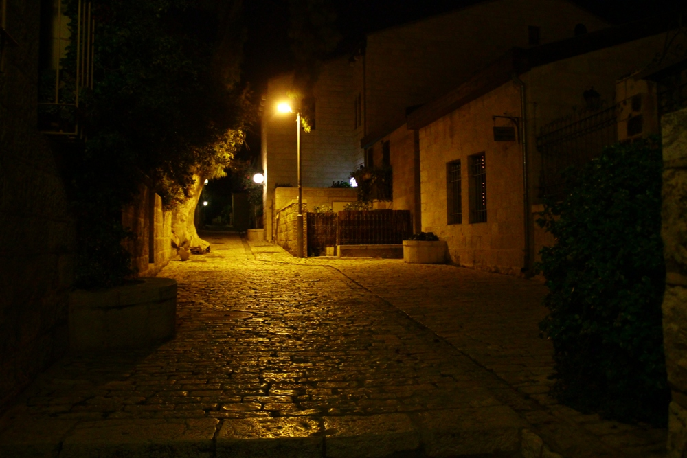 В первых кварталах Иерусалима