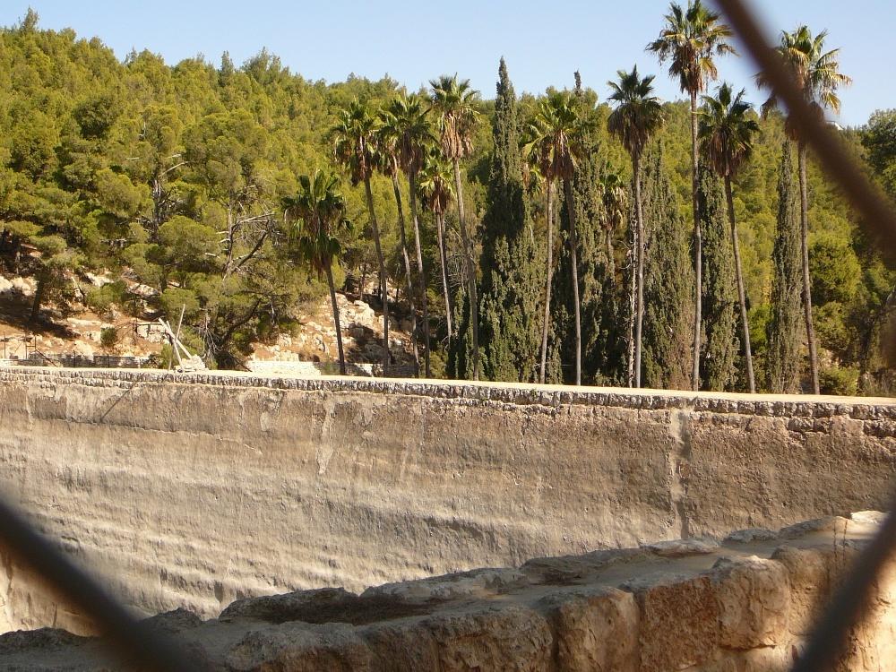 Бассейны Шломо - взгляд из нутри
