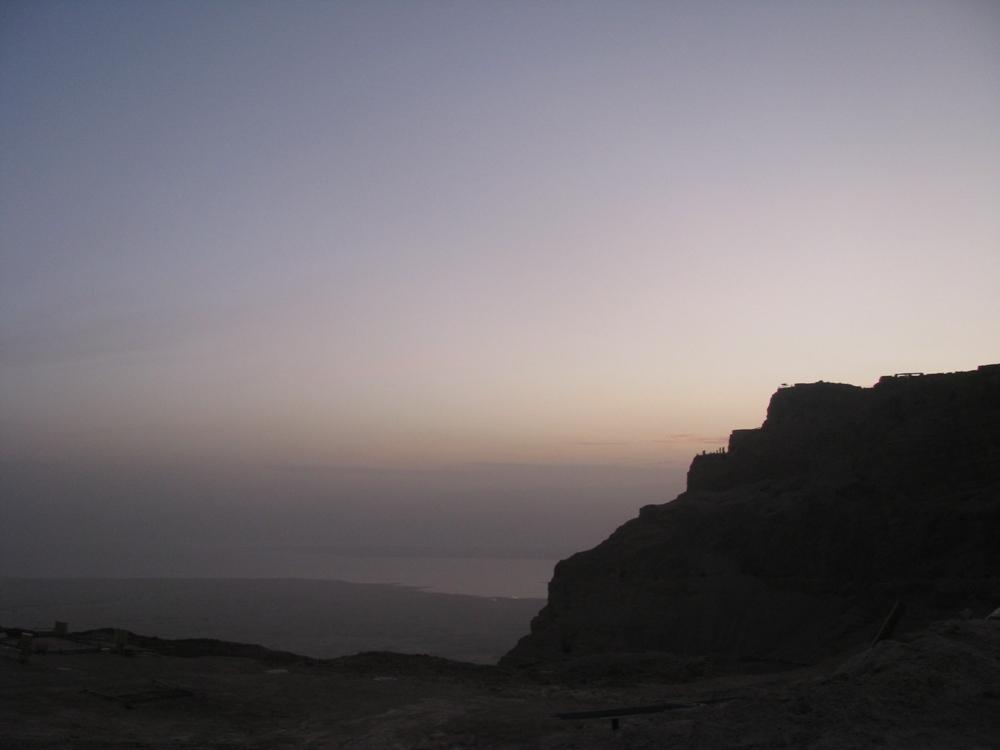 Экскурсия на Массаду