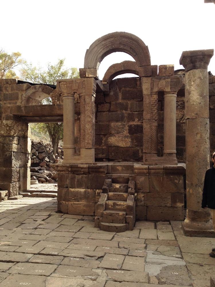 Арон аКодеш синагоги Ум эль Канатир