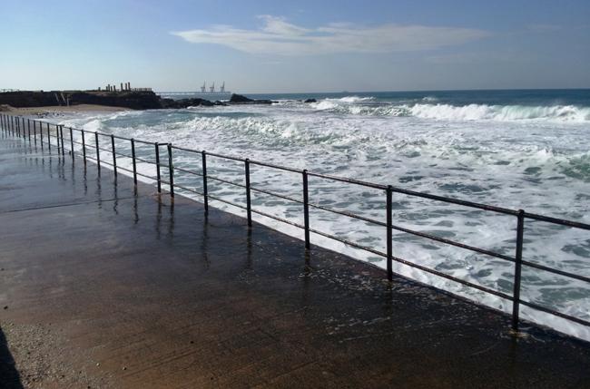 Кейсария - берег и море