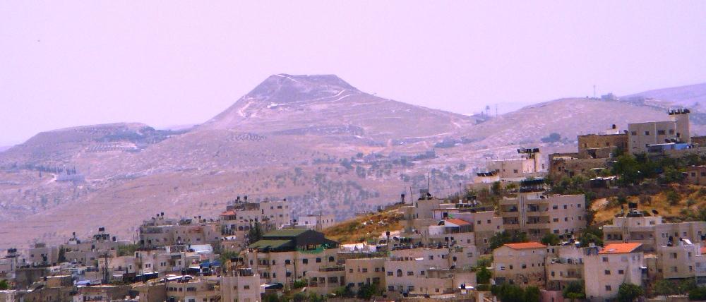 Гора Иродион - место захоронения царя Ирода