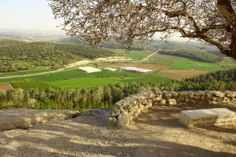 Долина а-Эла - вид с кургана Азека