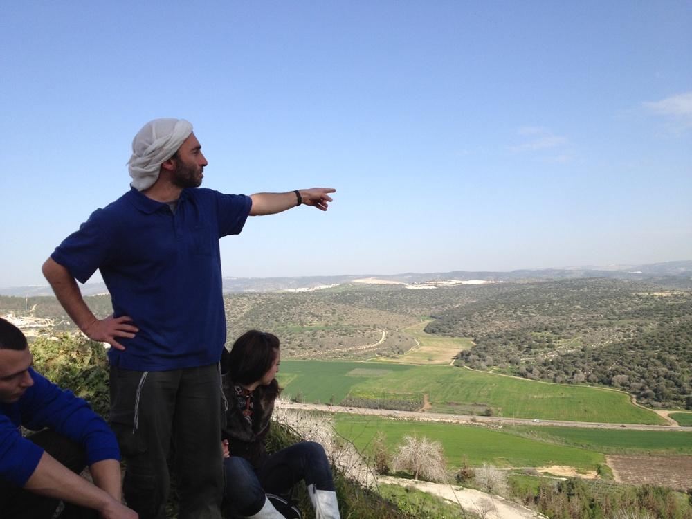 Арье Парнис - еврейские экскурсии по Израилю