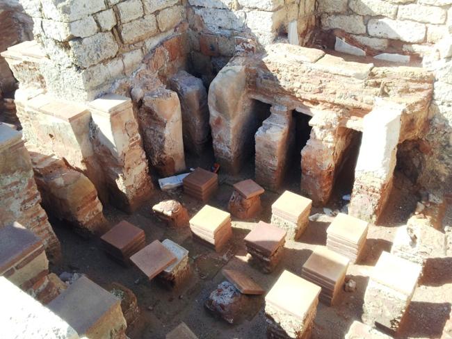 В византийских банях Кейсарии