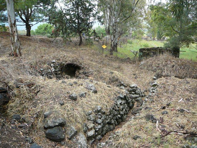 Минные поля и системы рвов