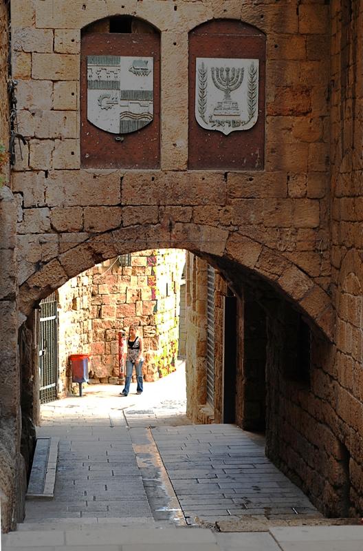 Улицы старого Акко