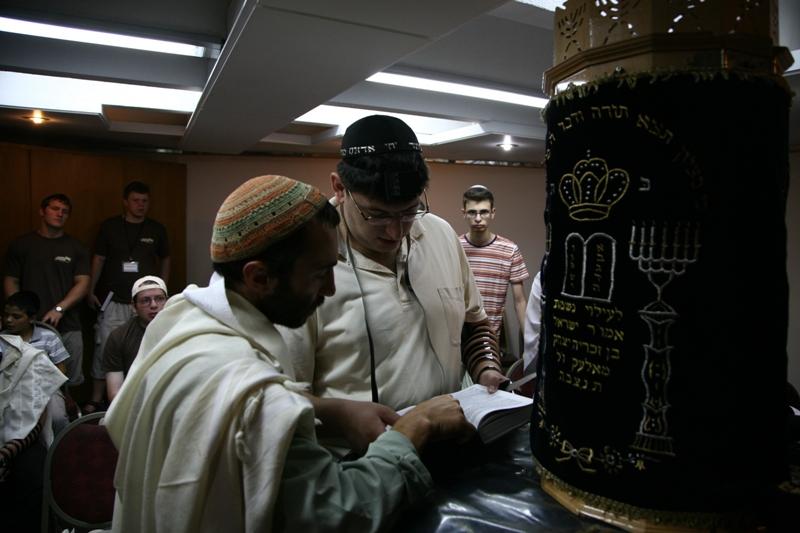 Утренняя молитва в Иерусалиме
