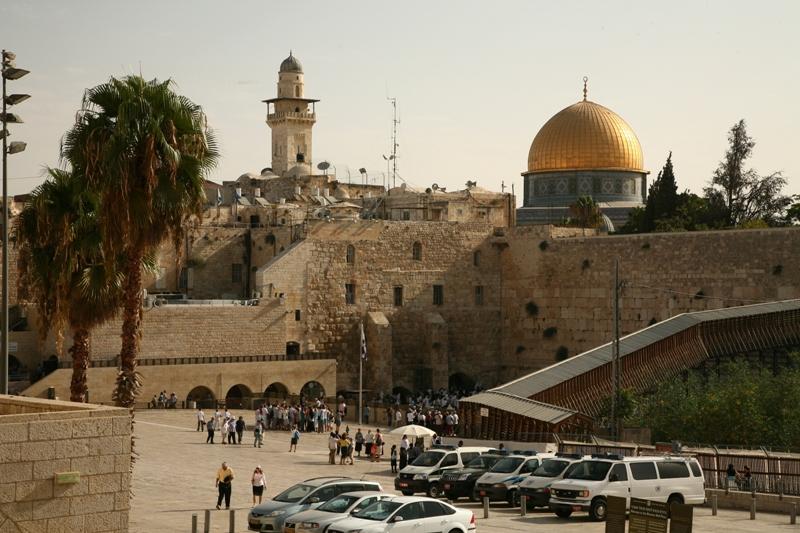 Вид в сторону Храмовой Горы