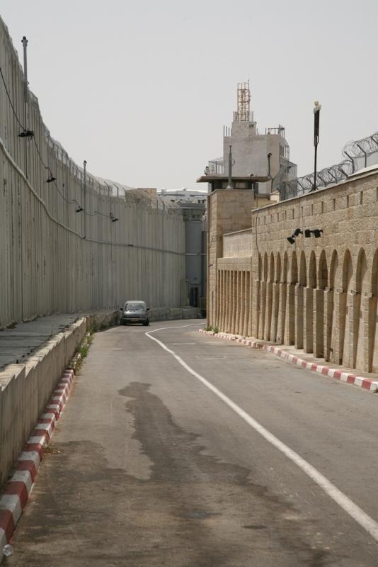 Стена размежевания - по дороге к захоронению Рахель в Бейт Лехеме