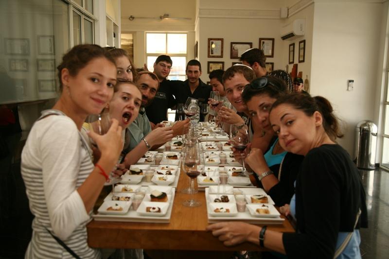 Дегустация в винодельне Дальтон в Верхней Галилее