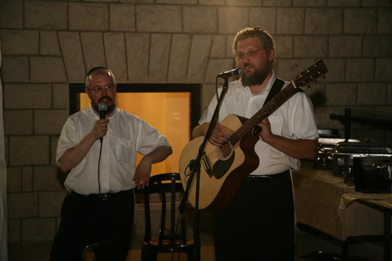 С Аси Шпигелем - вечер музыки и хасидизма в Цфате