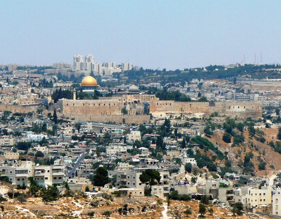 Город Давид у подножия Храмовой Горы
