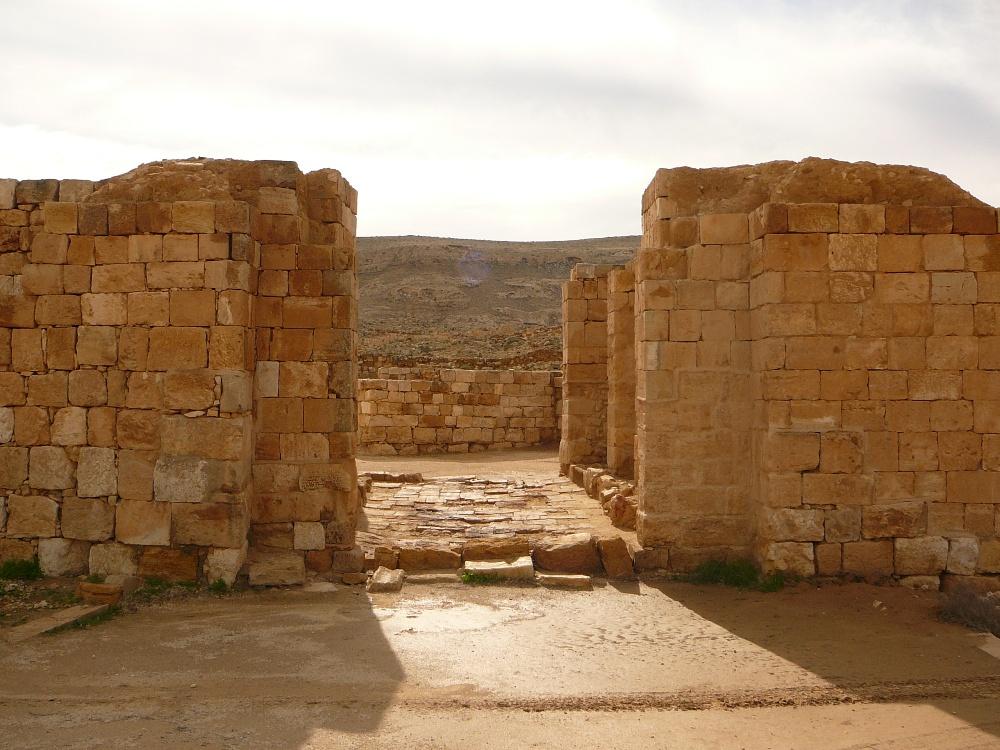 Ворота Мамшит - 1500 летней давности