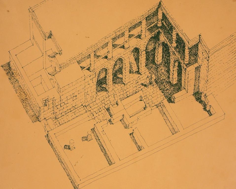 План одного из домов раскопанных археологами в Мамшите