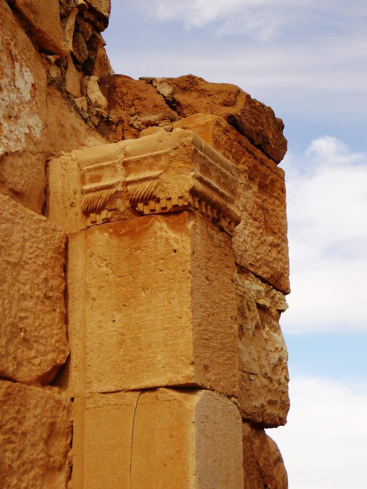 Архитектурные украшения в Мамшите