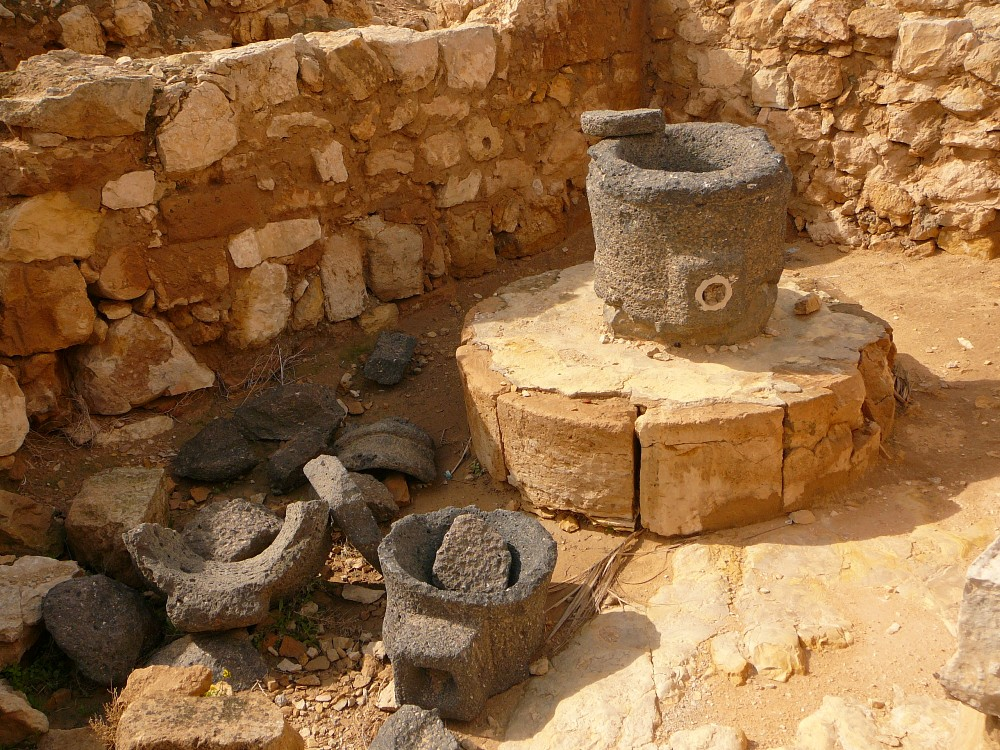 Остатки набатейской посуды найденные в Мамшите