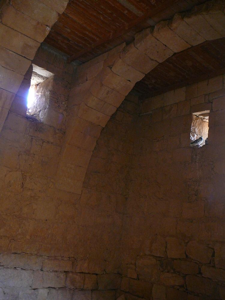 После реставрации - перекрытия типичного набатейского дома