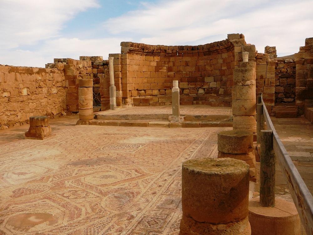 Мозаика центрального нефа церкви Нилуса