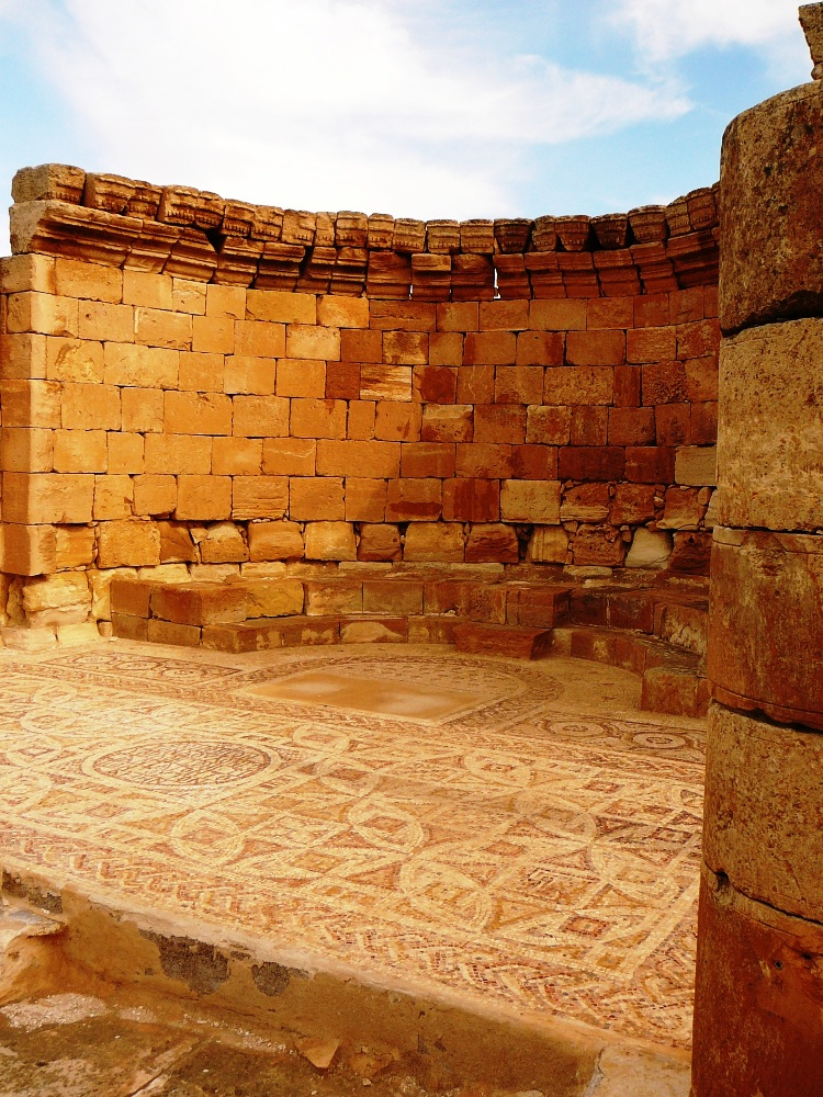 Апсида (апсис) церкви Нилуса в Мамшите