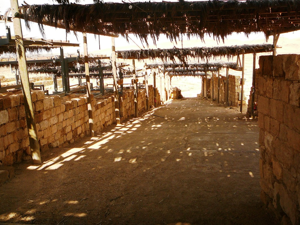 Реставрация рынка в Мамшите