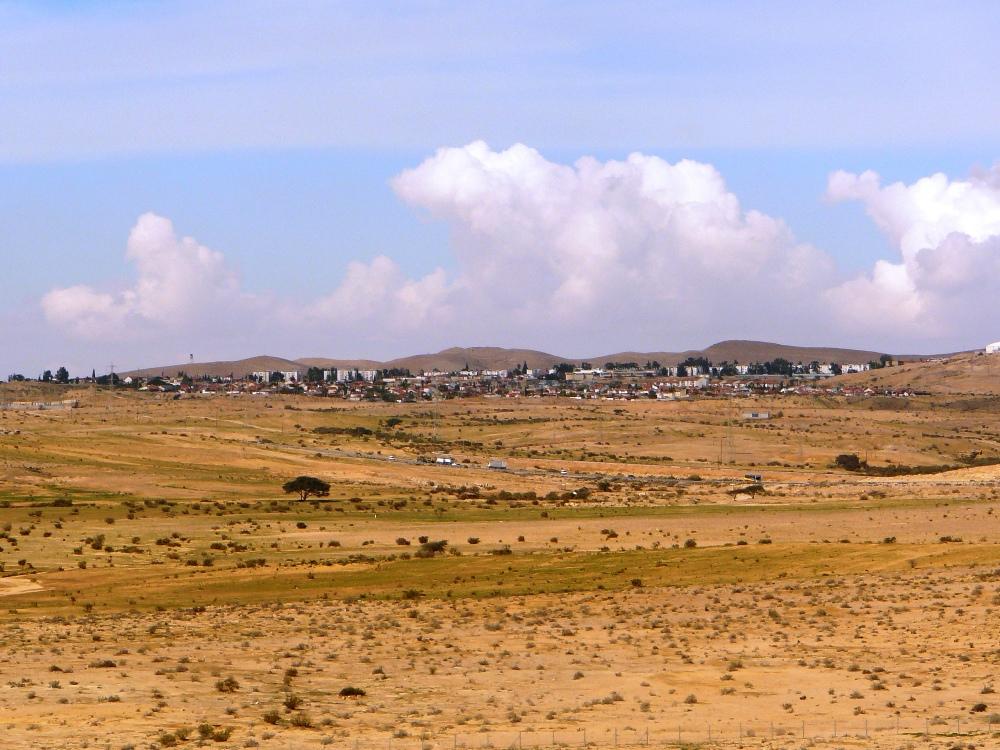 Город Димона - вид из Мамшита