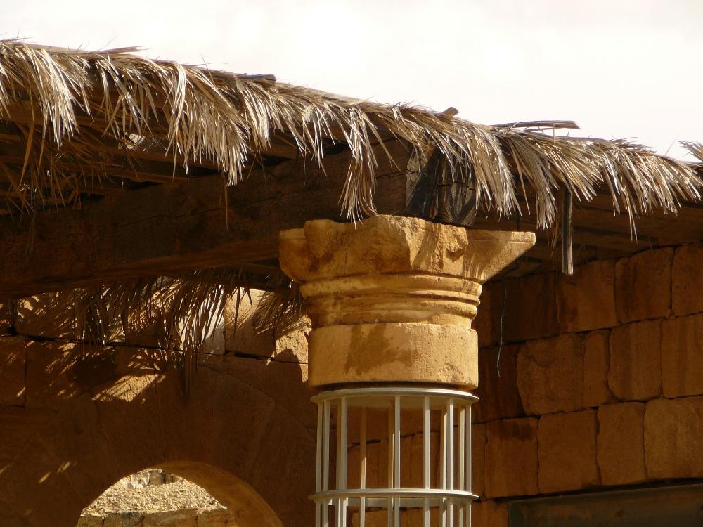 Набатейская капитель - особенности набатейской архитектуры