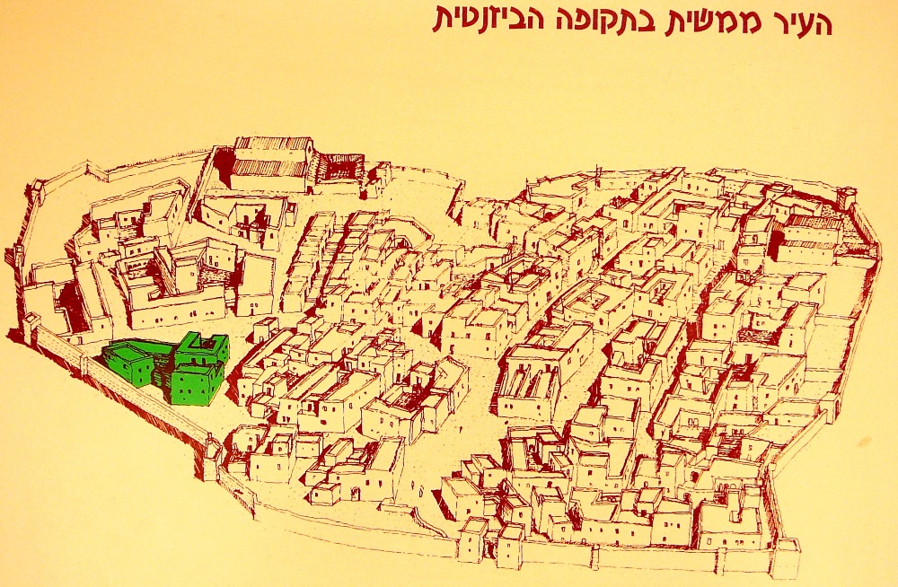 План города Мамшит в Византийский период