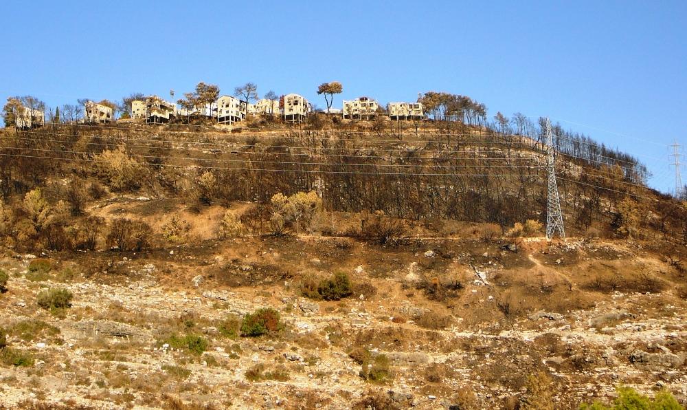 Кибуц Бейт Орен - после пожара