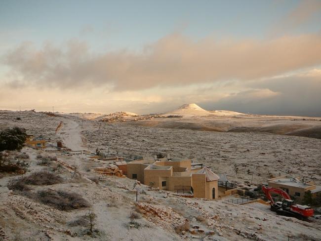 Снег в Ткоа