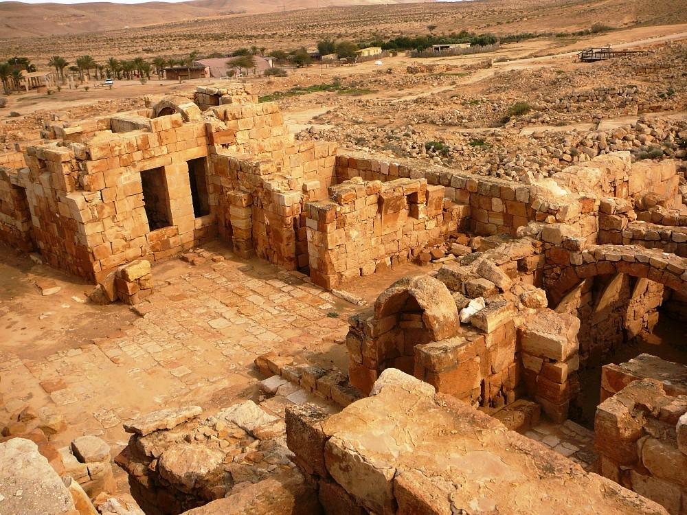 Мамшит – набатеи в Негеве