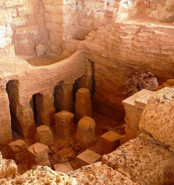 Римская баня в Кейсарии