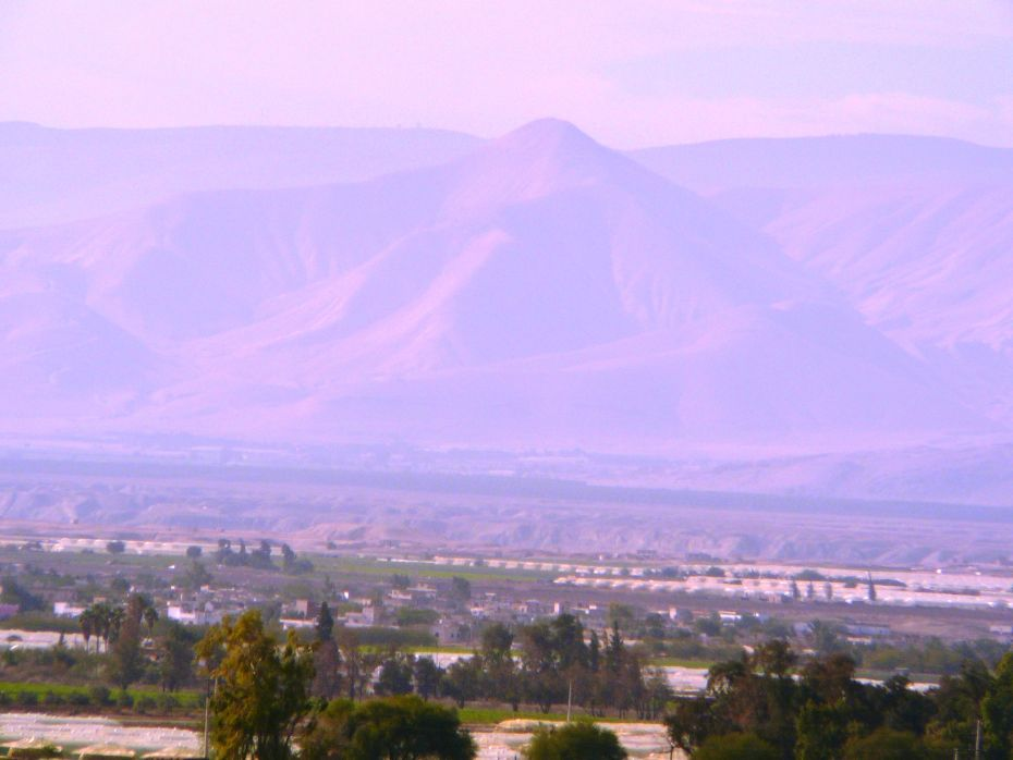 Вид на Сартабу (Александион) и на горы Шомрона