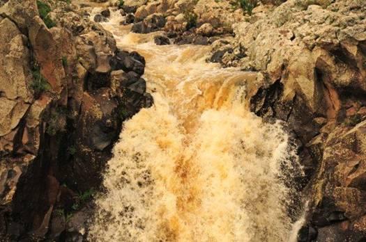 Пенящий поток - ущелье Зевитан на Голанах